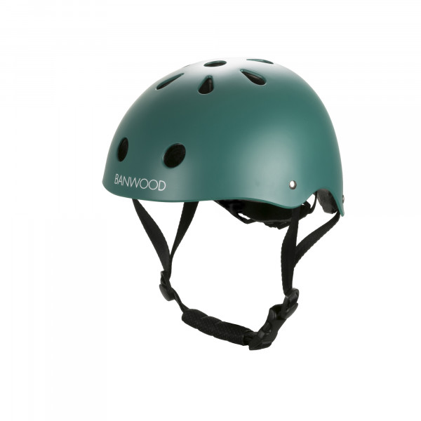Banwood - Kinderhelm Gr. XS dark green