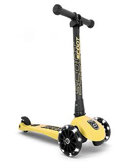 Scoot & Ride - Highwaykick 3 LED lemon