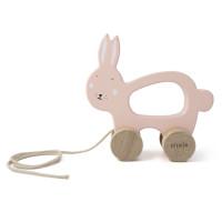 Trixie - Holz-Nachziehtier Mrs. Rabbit