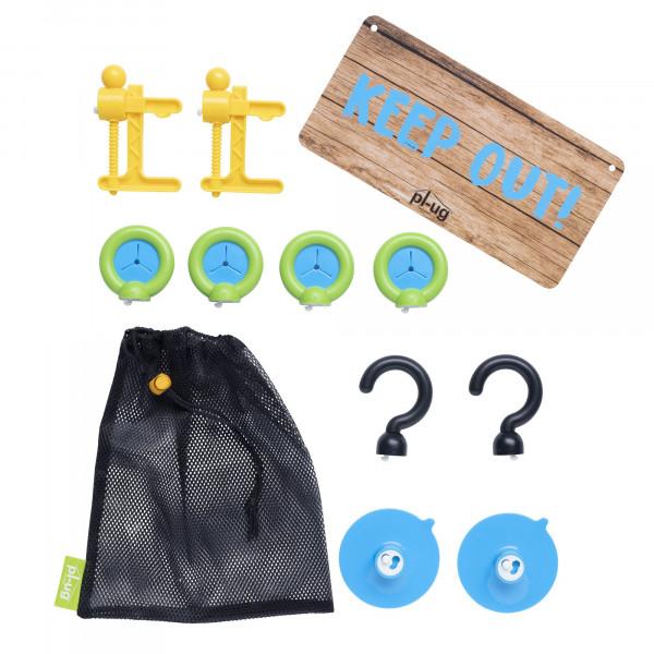 pl-ug - Höhlenbauset - Tent Tools Kit
