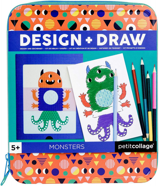 Petit Collage - Design & Draw Monster