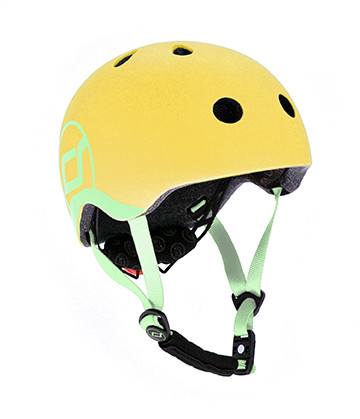 Scoot & Ride - Helm XXS-S lemon
