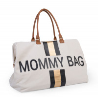 Childhome - Wickeltasche Mommy Bag schwarz/gold