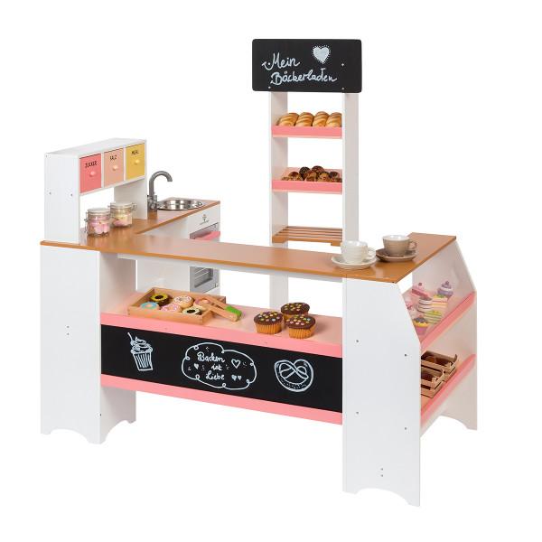 Musterkind - Kaufladen Bäcker und Konditor - Grano - weiß/apricot