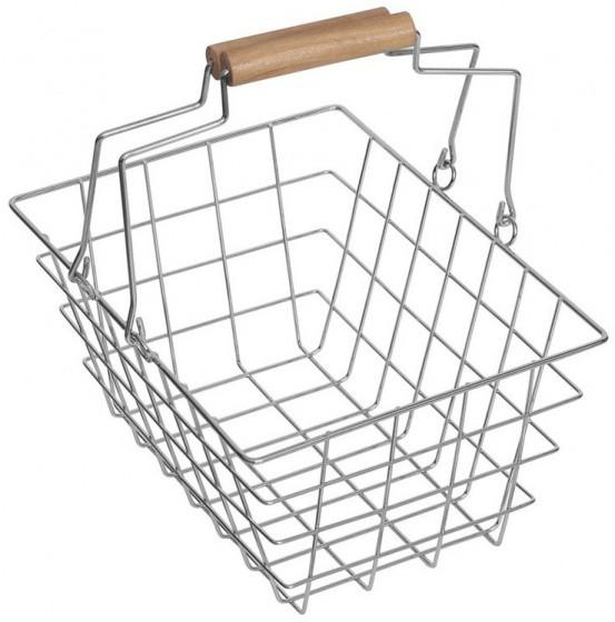 MaMaMeMo - Metall-Einkaufskorb