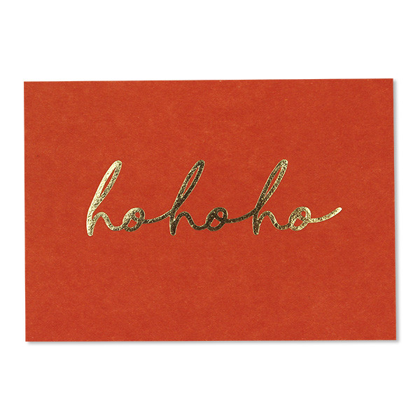 ava&yves - Postkarte hohoho