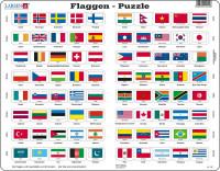 Larsen - Puzzle Flaggen