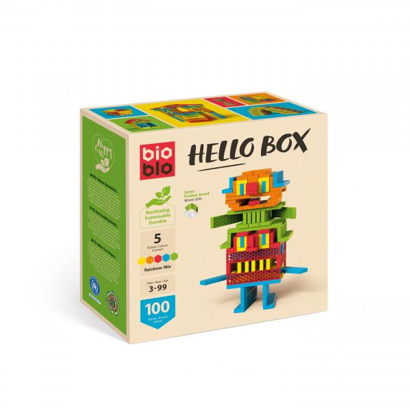 """bioblo - Hello Box """"Rainbow-Mix"""""""