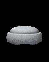Stapelstein - einzelner Stapelstein grau