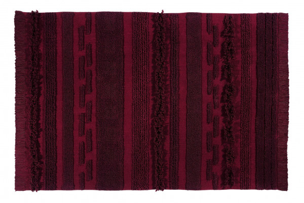 Lorena Canals - Teppich Washable Baumwolle Rug Air Savannah Red