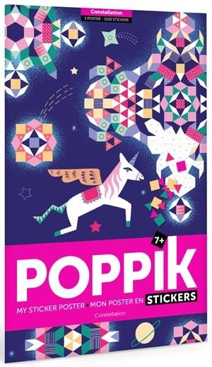 Poppik - Stickerposter Sternbild