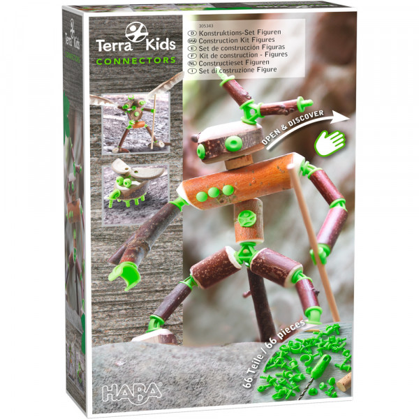 HABA - Terra Kids Connectors – Konstruktions-Set Figuren