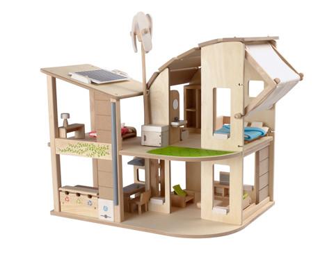 Plan Toys - 'Go Green' Puppenhaus
