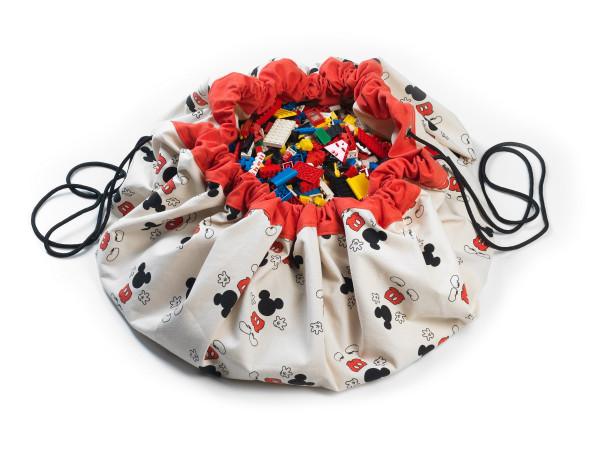 Play&Go - Aufräumsack Mickey cool