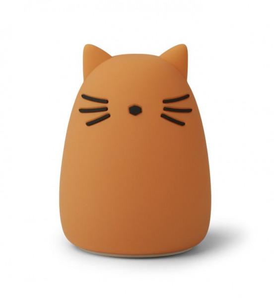Liewood - Nachtlicht Winston Cat mustard