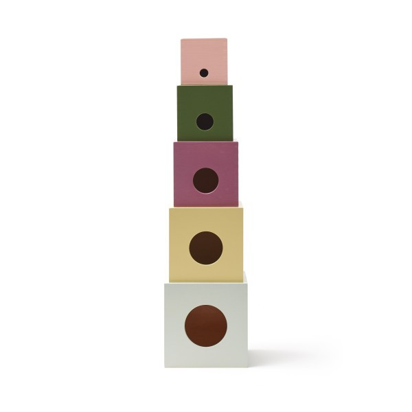 Kids-Concept - Stapelwürfel Holz Edvin