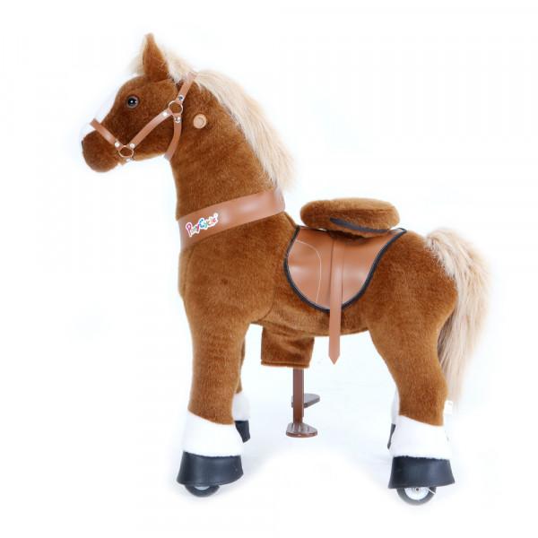PonyCycle - Plüschpferd braun