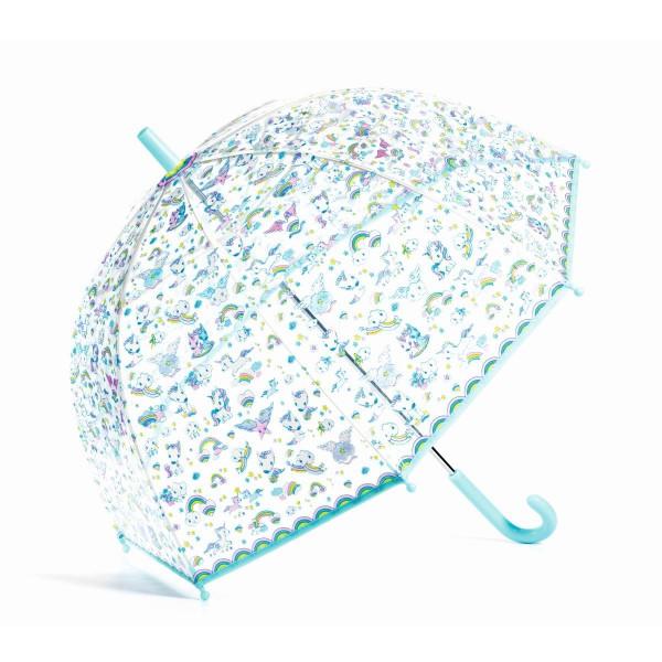 Djeco - Regenschirm Kinder Einhorn