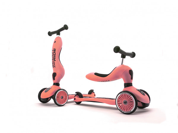 Scoot & Ride - Laufrad/Scooter Highwaykick 1 peach