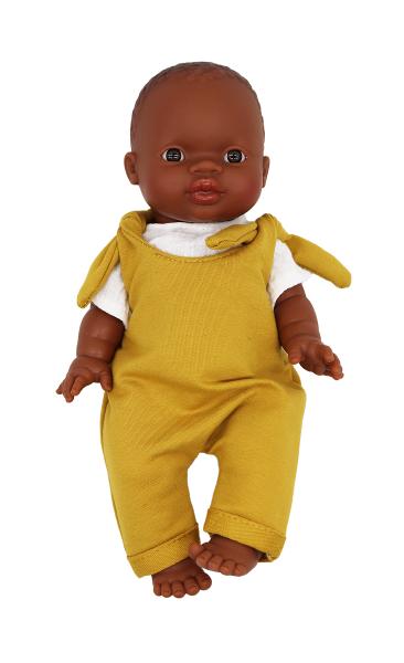 Lalou - Puppenkleidung Jungen Set 1 Latzhose/T-Shirt