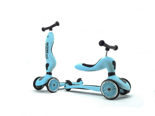 Scoot & Ride - Laufrad/Scooter Highwaykick 1 blueberry