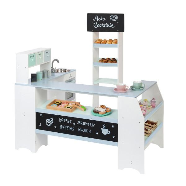 Musterkind - Kaufladen Bäcker und Konditor - Grano - weiß/graublau