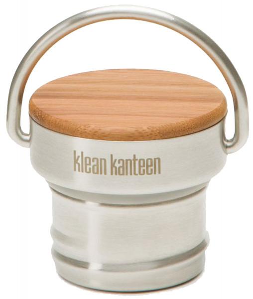 Klean Kanteen - Trinkflaschen Zubehör Edelstahl Bamboo Deckel für Classic Flaschen