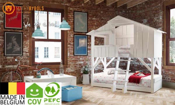Baumhaus-Bett - Etagenbett