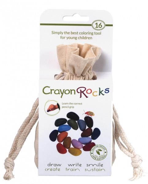 Crayon Rocks - Wachsmalsteine 16er Set