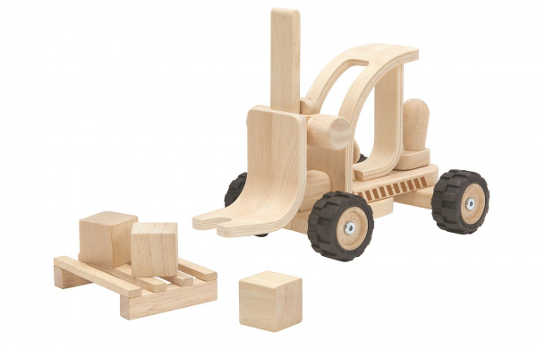 Plan Toys - Gabelstapler Special Edition