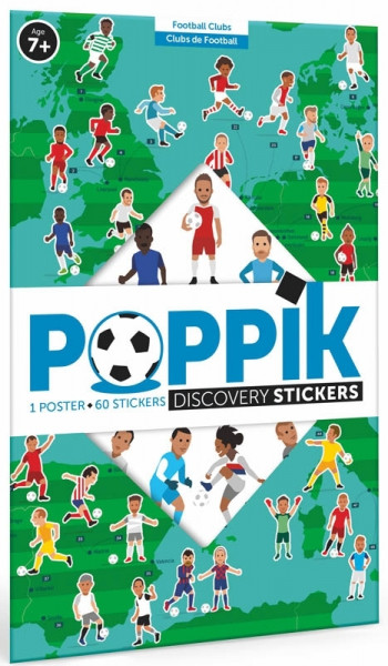 Poppik - Stickerposter Discovery Fußball