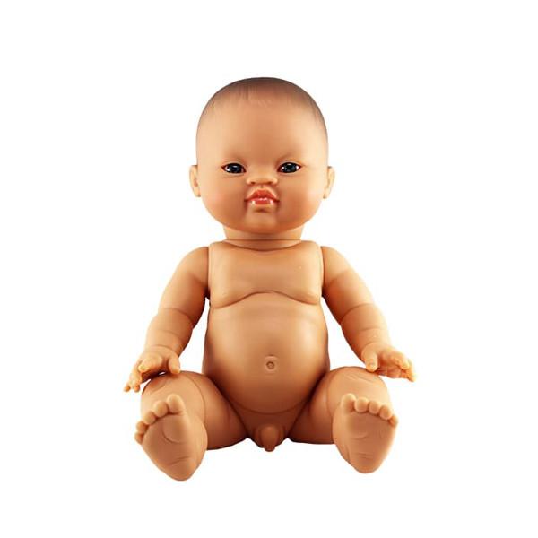 Paola Reina - Baby Doll Asian – Boy 34 cm