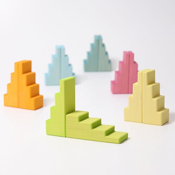 GRIMM'S - Treppendächer pastell