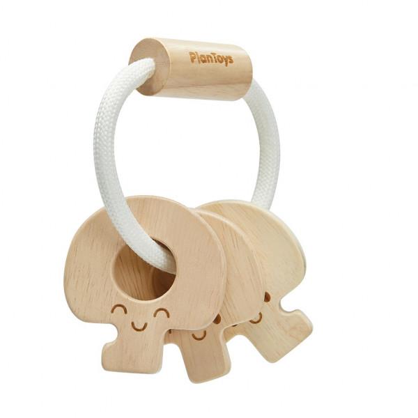 Plan Toys - Baby-Schlüsselrassel