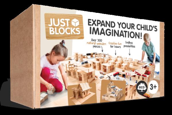 JUST BLOCKS - Holzklötze Box Large