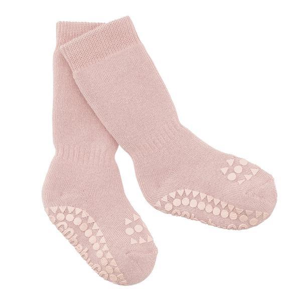 GOBABYGO - rutschfeste Socken rosa
