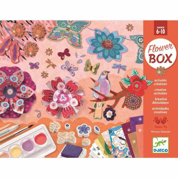 Djeco - Multi-Activity Kit: Blumengarten