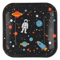 ava&yves - Pappteller Space