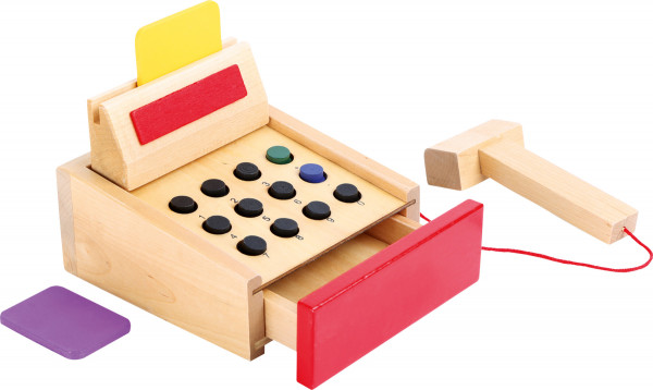 small foot company - Spielkasse aus Holz