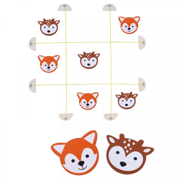 """MaMaMeMo - Tic Tac Toe """"Forest Friends"""""""