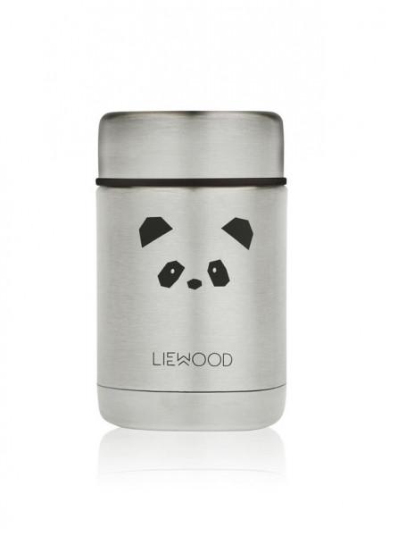 Liewood - Thermobehälter Nadja panda stainless steel