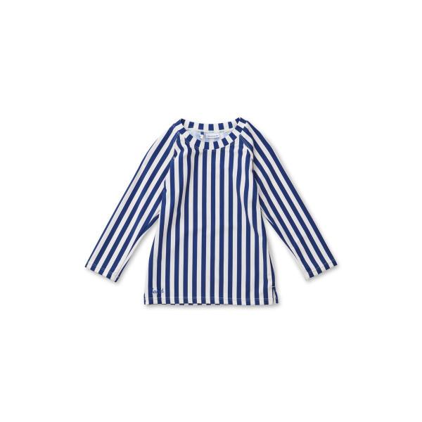 Liewood - Badeshirt Noah Stripes navy/creme de la creme