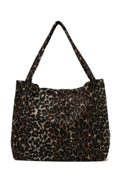 "Studio Noos - Tasche ""Mom Bag"" Jaguar brown/white"