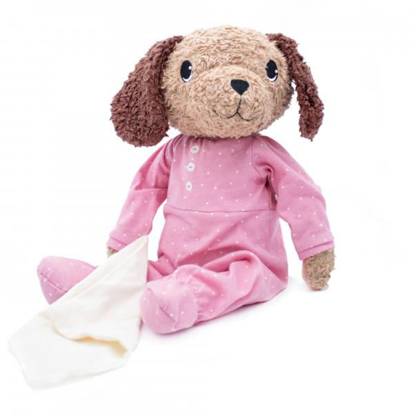 Hugzzeee - Kuscheltier Hund rosa