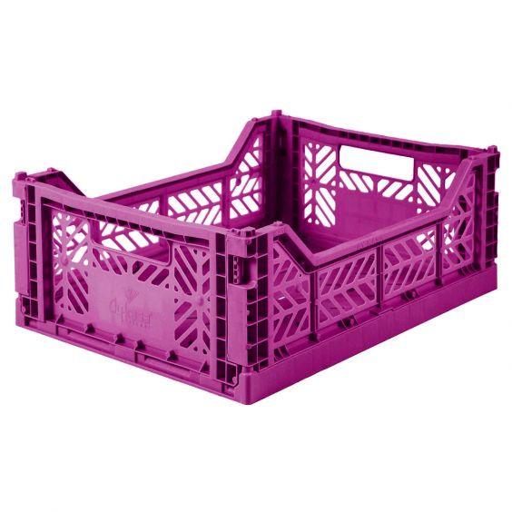 Ay-Kasa - Aufbewahrungsbox MIDI purple
