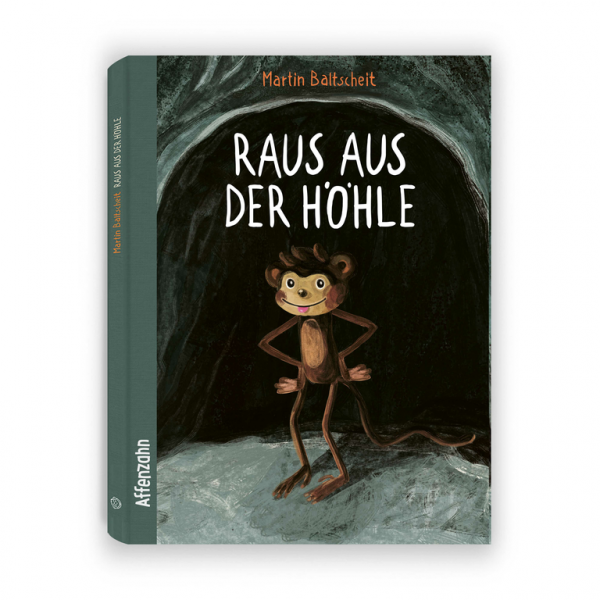 """Affenzahn - Kinderbuch """"Raus aus der Höhle"""""""