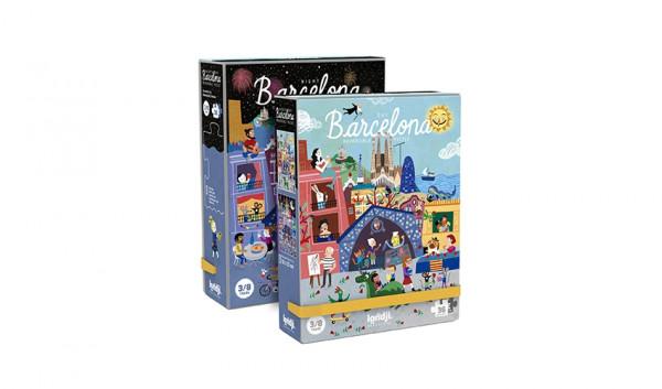 "Londji - Puzzle ""Night & day in Barcelona"""