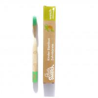 Powdy&Snatch - Zahnbürste aus Bambus grün