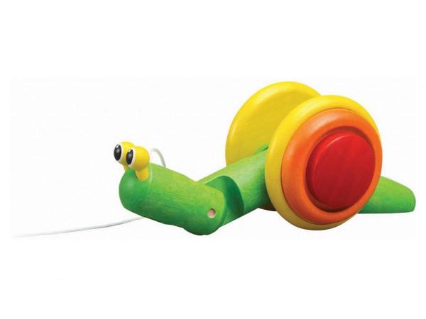 Plan Toys - Nachziehtier Schnecke