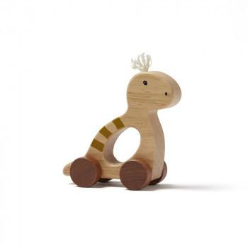 Kids Concept - Schiebefigur Dino Neo natural